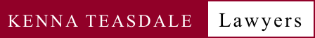 Kenna Teasdale Lawyers Logo